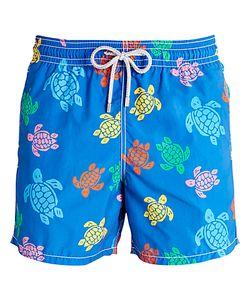 Vilebrequin | Moorea Multi-Colou Turtle Print Swim Shorts