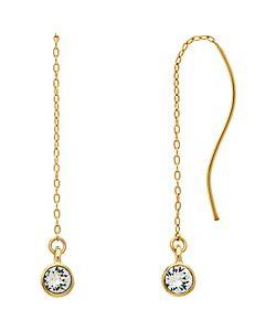 Melissa Odabash | Swarovski Crystal Chain Drop Earrings