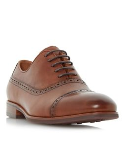 Dune   Promise Leather Oxford Shoes Tan