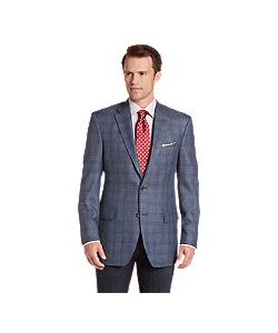 JoS. A. Bank   Signature Collection Traditional Fit Windowpane Sportcoat