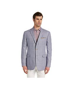 JoS. A. Bank   1905 Collection Tailo Fit Windowpane Sportcoat