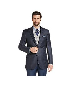JoS. A. Bank   Reserve Collection Tailo Fit Plaid Sportcoat