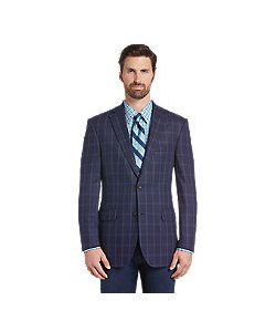 JoS. A. Bank   Reserve Collection Tailo Fit Windowpane Sportcoat