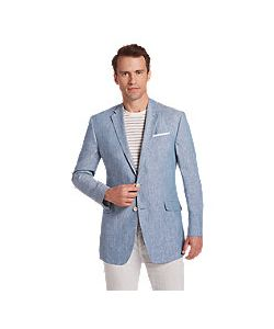 JoS. A. Bank   1905 Collection Tailo Fit Chambray Sportcoat