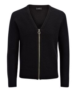 Joseph | Boiled Knit Zip Cardigan In