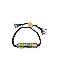 Venessa Arizaga | Rainbow Smiley Bracelet