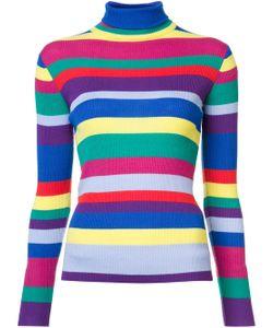 Mira Mikati | Striped Turtleneck Sweater