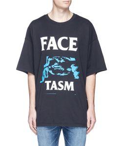 Facetasm | Graphic Logo Print Oversized T-Shirt