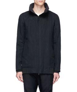 Devoa | Washi Twill Mock Neck Jacket