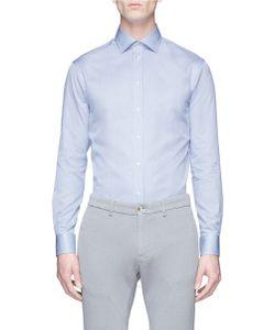 Armani Collezioni | Stripe Cotton Poplin Shirt