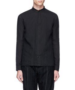 Devoa | Washi Fabric Zip Shirt