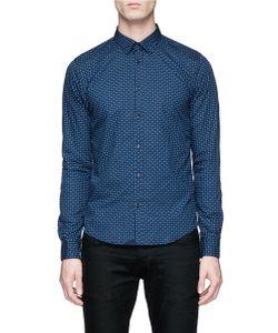 Scotch & Soda | Geometric Print Cotton Poplin Shirt