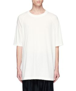 Song For The Mute | Beau Print Oversized Cotton T-Shirt