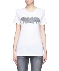 Zoe Karssen | Bat Print Cotton-Modal T-Shirt