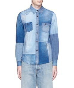 Fdmtl | Boro Patchwork Cotton Denim Shirt