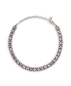 Dannijo | Jihan Swarovski Crystal Collar Necklace