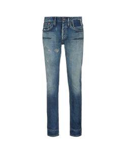 Denham   Razor Slim Fit Distressed Jeans