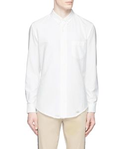 Palm Angels | Distressed Cotton Oxford Shirt