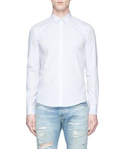 Scotch & Soda | Polka Dot Print Cotton Poplin Shirt