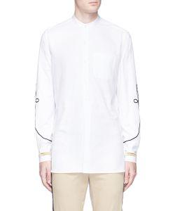 Ports   Corded Appliqué Cotton Twill Shirt