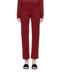The Row   Destiny Virgin Wool Blend Jersey Pants