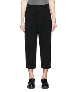 The Viridi-Anne | Pleated Wide Leg Suiting Pants