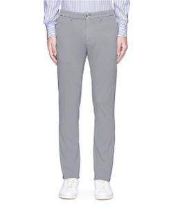 Lardini | Cotton-Flax Jersey Pants