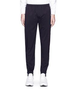 Tim Coppens | Tuxedo Stripe Wool Jogging Pants