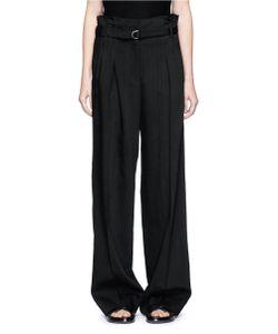 3.1 Phillip Lim | Belted Paperbag Waist Wide Leg Pants