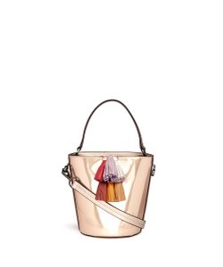 Rebecca Minkoff | Sofia Tassel Mirror Leather Bucket Bag