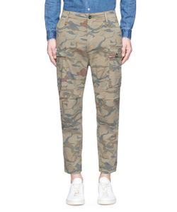 Denham   Nato Dragon Camouflage Print Cargo Pants