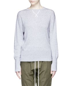 Bassike | V-Stitched Cotton Sweater