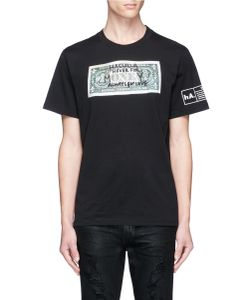 Haculla | Never For Money Doodle Bill Print T-Shirt