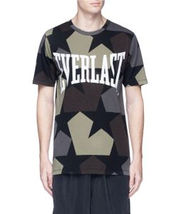 Ports   X Everlast Star Camo Print T-Shirt