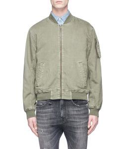 Denham   Apex Cotton Twill Bomber Jacket