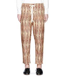 Uma Wang | Pigiama Tribal Stripe Cotton Pants