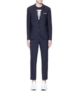 Neil Barrett   Slim Fit Virgin Wool Blend Suit