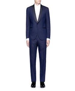 Lardini | Dot Jacquard Tuxedo Suit