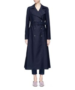 The Row   Frenton Belted Cotton Trench Coat
