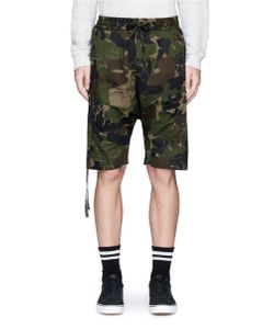Haculla | Saber Patch Camouflage Print Shorts