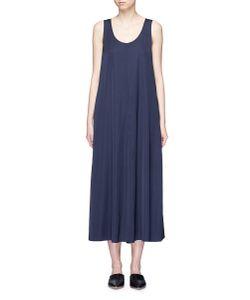 Vince | Stretch Satin Sleeveless Maxi Dress