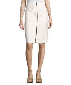 Belstaff | Harrow Zip-Front Pencil Skirt