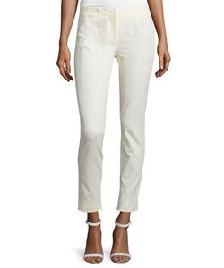Costume National | Mid-Rise Skinny Trousers