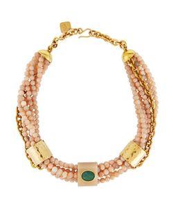 Ashley Pittman | Mchanga Multi-Strand Pink Sandstone Beaded Necklace