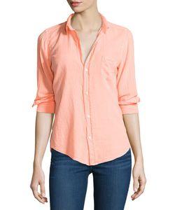 Frank & Eileen   Long-Sleeve Barry Cotton Shirt