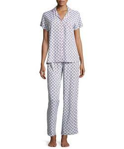 Splendid Intimates | Scalloped Pattern Pajama Set Allop