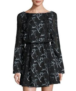 Thakoon | Lace-Inset Floral-Print Dress I