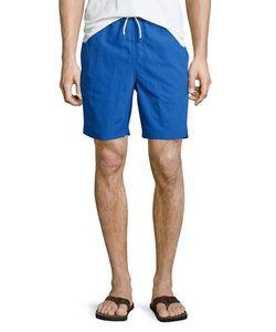 Neiman Marcus | Solid Swim Trunks