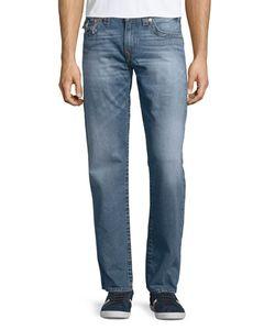 True Religion | Straight-Leg Cotton Denim Jeans Medium Drifter