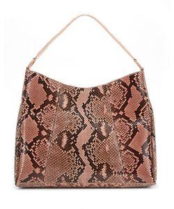 Nancy Gonzalez | Printed Python/Crocodile Hobo Bag
